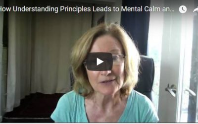 How Understanding Principles Leads to Mental Calm and Presence